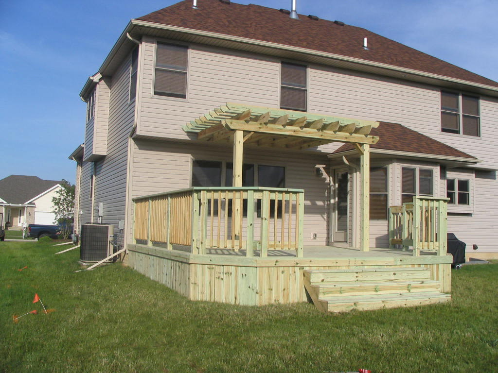 toledo deck installation